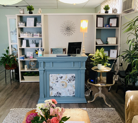 Rejuvenating Touch Day Spa Entrance in Jefferson, GA